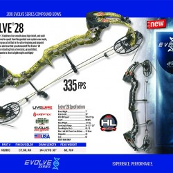 Arc compound PSE Evolve 28 - 2019
