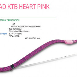 Arc HorseBow Freddie Archery Pink Hearth