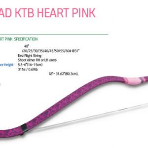 Arc Horsebow Freddie Archery Pink Heart