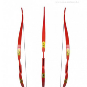 Arc Rolan Snake 60 inch Rosu - Albastru