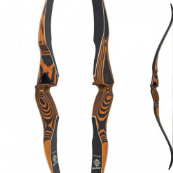 Arc hunting bow one piece Oak Ridge Hardwood