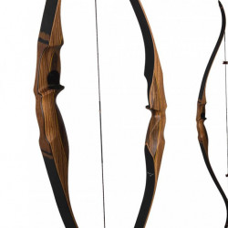 Arc recurve one piece Buck Trail Elite Bowmen