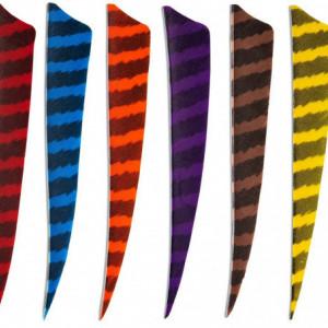 Pene naturale Skylon Shield 3 inch - Zebrate