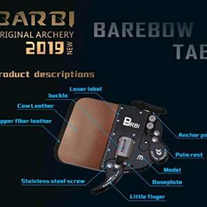 Tab Barebow Decut Piele