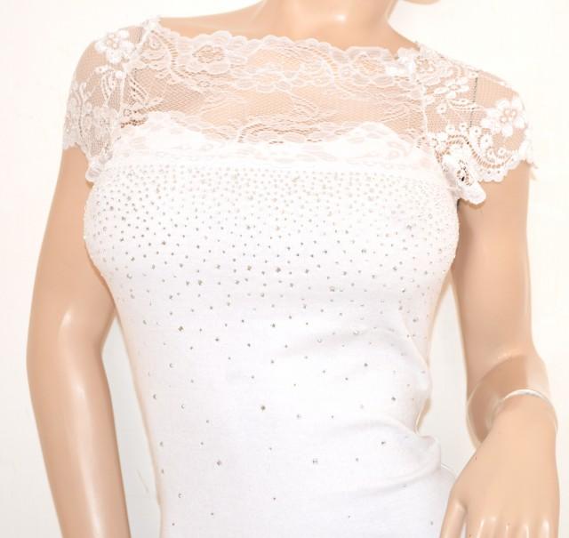 Maglietta donna bianca sottogiacca da cerimonia strass for Immagini con brillantini