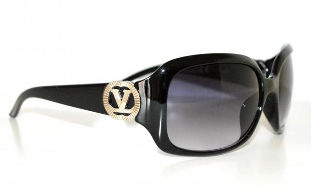 Occhiali da sole neri donna elegante v metallo lenti for Occhiali neri da sole