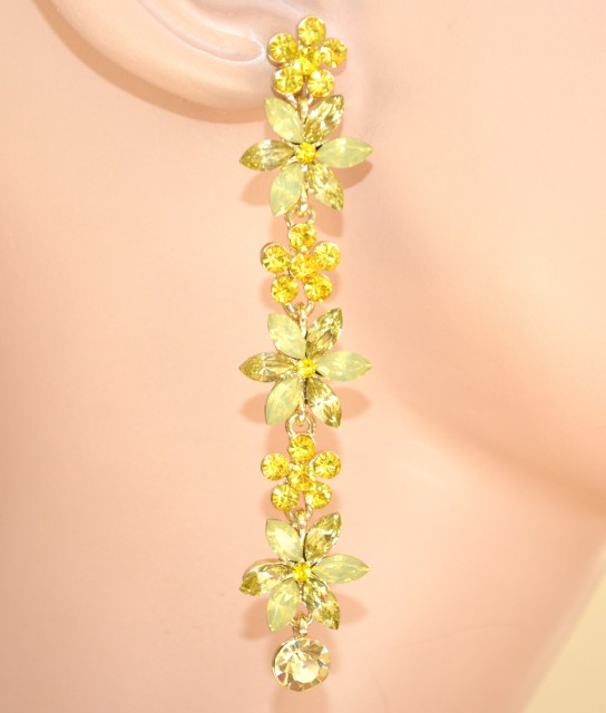 fiori gialli pendenti