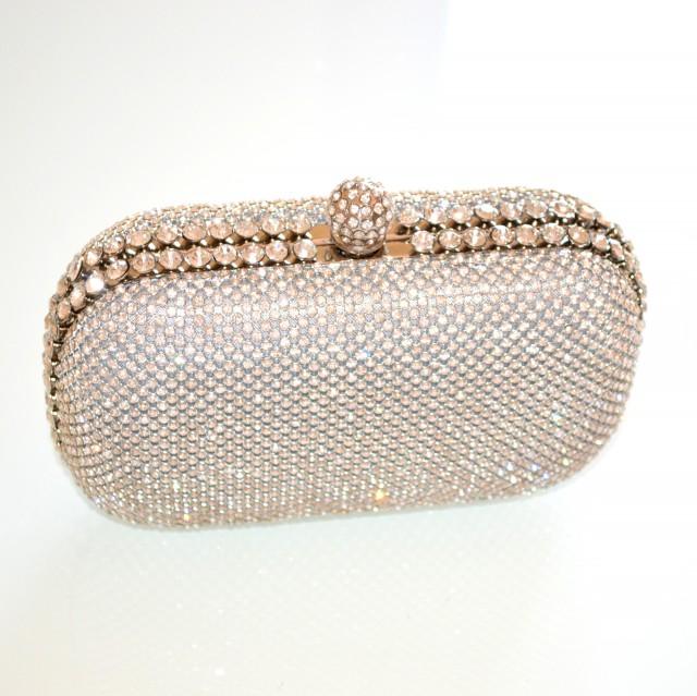 Borse Da Sera Con Strass : Pochette argento cristalli donna da cerimonia strass