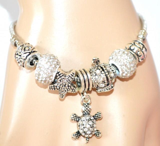 braccialetto pandora con ciondoli