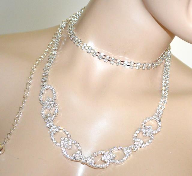 rivenditore online f4877 7c7a3 CINTURA argento donna gioiello metallo strass cristalli anelli cerimonia  BB25