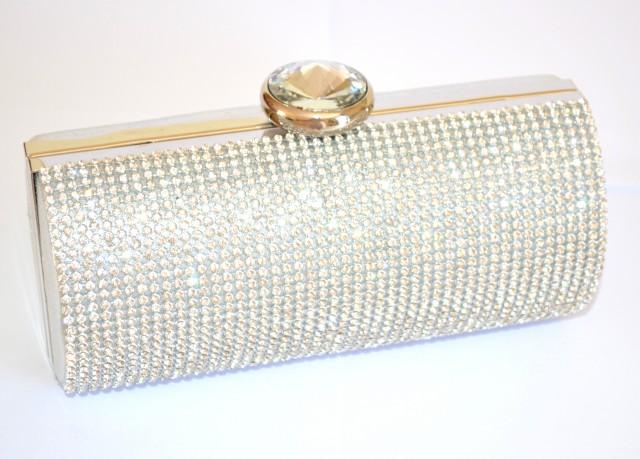 Donna Argento Borsello Cerimonia Pochette Cristalli Borsa Elegante A4w5wPqa