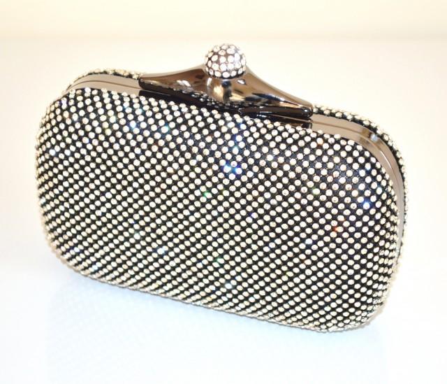 Borse Da Sera Con Strass : Pochette clutch bag donna da cerimonia elegante strass