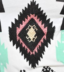 Abito donna miniabito vestito copricostume cotone lino chiodini 75