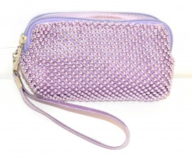 6e200bc997 BORSELLO MINI donna pochette LILLA borsellino ragazza da borsa clutch bag  da sera 1150