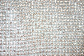 POCHETTE donna ARGENTO CRISTALLI elegante borsello da cerimonia CLUTCH BAG STRASS sac 1300