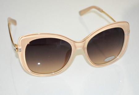 OCCHIALI da SOLE donna BEIGE ORO aste dorate strass темные очки sunglasses BB24