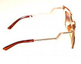 OCCHIALI da SOLE donna BEIGE ORO lenti occhi di gatto sunglasses gafas dorati E50