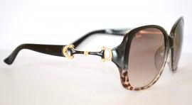 OCCHIALI da SOLE donna LEOPARDATO maculati oro NERI lenti estive lunettes gafas 55