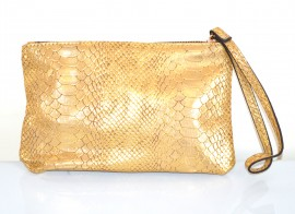MINI BORSELLO ORO donna borsellino pochette tracolla a mano clutch bag E179 immagini