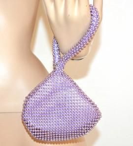 c30b5c32c8 Mini Pochette bracciale donna borsetta LILLA ELEGANTE mini borsello da  cerimonia sexy borsa clutch sac 1145