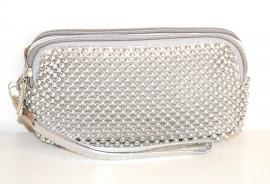 e750342336 BORSELLO MINI ARGENTO donna pochette borsellino ragazza da borsa da sera  clutch bag 1150