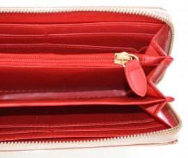 PORTAFOGLIO donna mini borsello ORO metallizzato pochette clutch bag F30