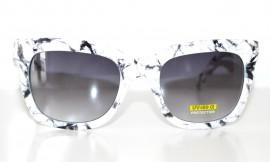 OCCHIALI da SOLE donna BIANCO NERO lenti sunglasses темные очки lunettes 85