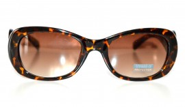 OCCHIALI da SOLE donna Marrone Neri Eleganti leopardati maculati lenti ondulate sunglasses gafas de sol lunettes 70
