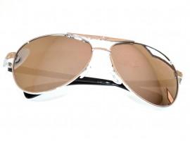 OCCHIALI da sole uomo grigio argento lenti ovali lunettes F65