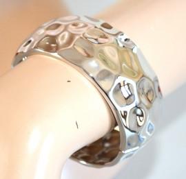 BRACCIALE donna ARGENTO RIGIDO a SCHIAVA ragazza bracelet armband pulsera 950