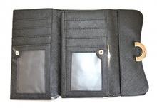 BORSELLO elegante PORTAFOGLIO AZZURRO pochette donna sexy animalier pelle clutch bag 1260