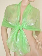 Stola Coprispalle donna verde fluo elegante per abito da sera\cerimonia F1