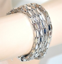 BRACCIALE ARGENTO donna bracelet armband ragazza bigiotteria idea regalo A8