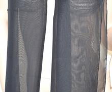 FOULARD donna seta TINTA UNITA stola coprispalle CERIMONIA x abito\vestito VELATO bufanda nero 72