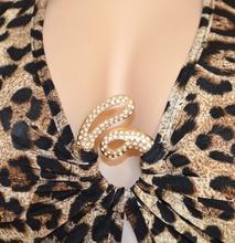 MINI ABITO donna vestito leopardato strass sexy schiena nuda discoteca elegante da sera V23
