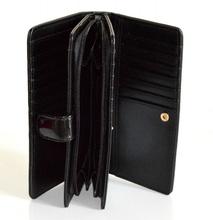 POCHETTE BORSELLO NERO donna Borsa Clutch bag Portafoglio Vernice bolsa сумка 15