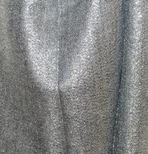 STOLA grigio nera scialle coprispalle donna foulard brillantinato cerimonia A75