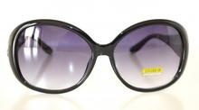 OCCHIALI da SOLE donna NERI maculati leopardati lenti ovali sunglasses gafas E15