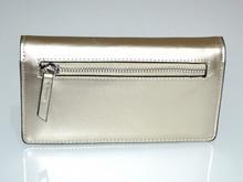 PORTAFOGLIO ORO donna borsello pochette eco pelle paillette clutch bag regalo G2