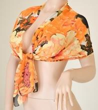 Stola Coprispalle donna elegante per abito da sera\cerimonia arancio