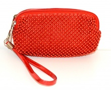 BORSELLO MINI  ROSSO elegante pochette donna borsellino da borsa ragazza clutch bag da sera 1150