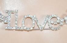 CINTURA gioiello donna ARGENTO strass CRISTALLI stringivita brillantini romantica idea regalo 520