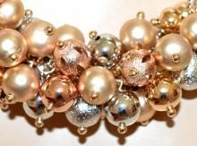 COLLANA girocollo argento oro rosa dorato donna ciondoli collier elegante BB1