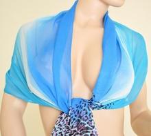Stola Coprispalle donna elegante per abito da sera\cerimonia azzurro