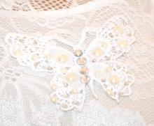 TOP CANOTTA BIANCA maglia donna giromanica pizzo strass sottogiacca elegante E160