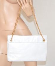 BORSELLO donna POCHETTE ARGENTO borsa x CERIMONIA Elegante bolsa sac bag 700A