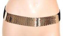 CINTURA donna NERA ARGENTO elegante bustino stringivita elastica da cerimonia party E25