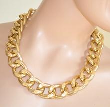 COLLANA donna ORO Girocollo Catena dorata anelli collier sexy necklace E19