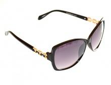 OCCHIALI da SOLE donna NERI ORO lenti ovali sunglasses gafas de sol lunettes E65