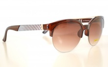 Occhiali da sole marroni uomo lenti rotonde man sunglasses gafas de sol Z5